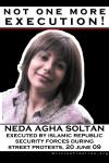 no execution - neda agha soltan