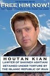 Support Houtan Kian, Lawyer for Sakineh Ashtiani, Detained Under Torture for Two Years Today