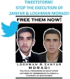 TWEETSTORM to Stop the Execution of Zanyar & Loghman Moradi!
