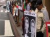 Report & Videos for 13 January Protest Action to Stop the Execution of Zanyar & Loghman Moradi