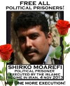 Condemn the execution of Shirko Moarefi, political prisoner in Iran!