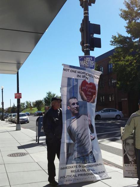 Against Execution in Iran & Worldwide: Activists in Washington DC Commemorate the World Day against the DeathPenalty