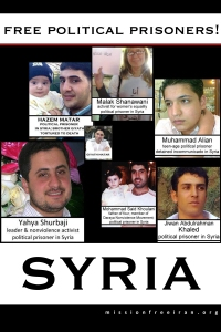 free political prisoners - syria
