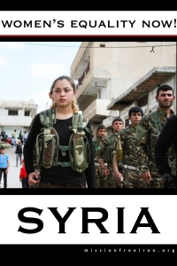 women's equality now - syria