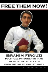 free them now - Ibrahim Firouzi