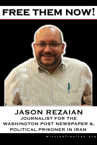free them now - Jason Rezaian