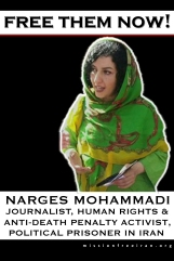 free them now - Narges Mohammadi