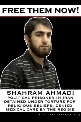 free them now - shahram ahmadi